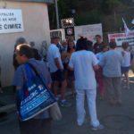 Manifestation de soutien au personnnel de l'Hôpital Cimiez
