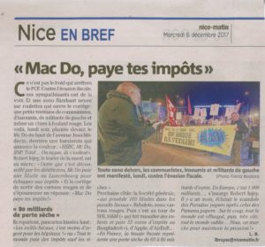 Action Fraude Fiscale