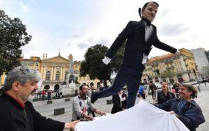Le «paillassou» d'Emmanuel Macron