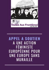 Toutes aux frontières - Action féministe internationale @ Place Masséna