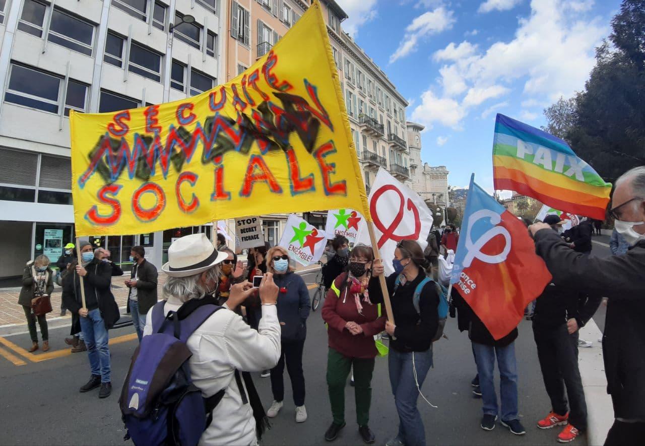 Marche pour les libertés et contre les idées d'extrême-droite – Nice 12 Juin