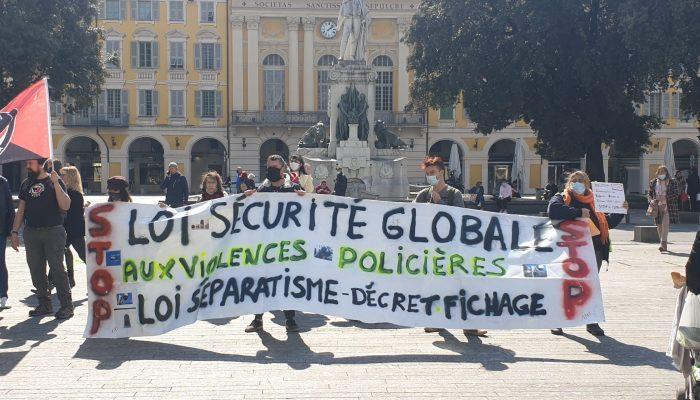 CONTRE la loi Sécurité globale